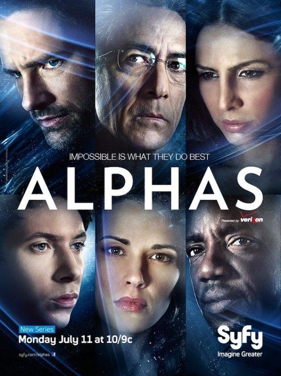 Люди Альфа / Alphas (2011)