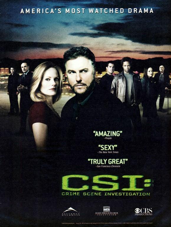 C.S.I. Место преступления / CSI: Crime Scene Investigation (2000)