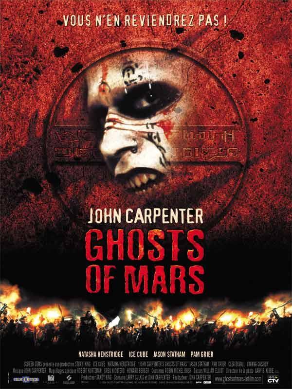 Призраки Марса (2001) смотреть онлайн