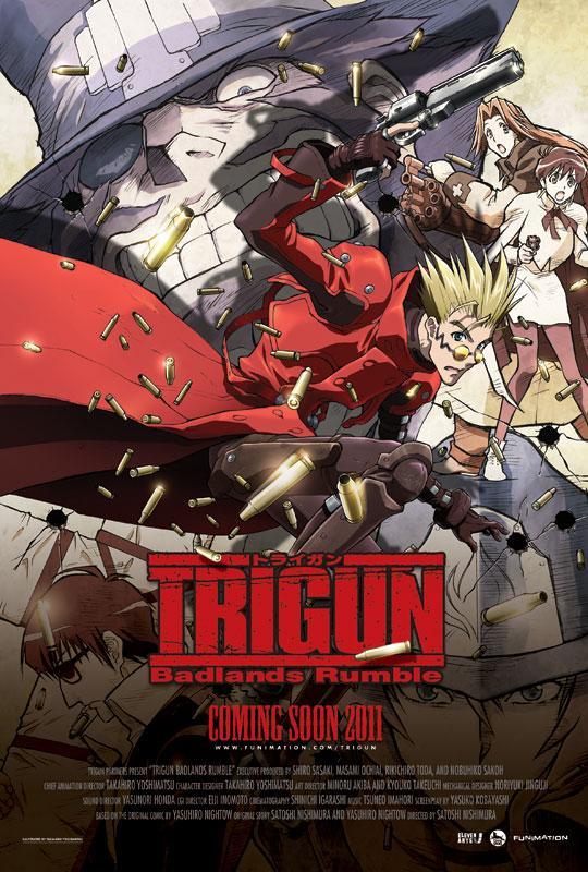 Триган: Переполох в Пустошах / Trigun: Badlands Rumble (2010)