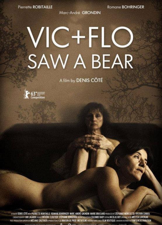 Вик и Фло увидели медведя / Vic + Flo ont vu un ours (2013)