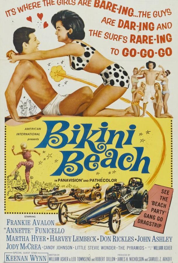 Пляж бикини / Bikini Beach (1964)
