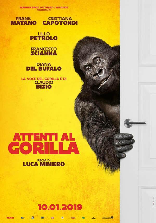 Осторожно, злая горилла!