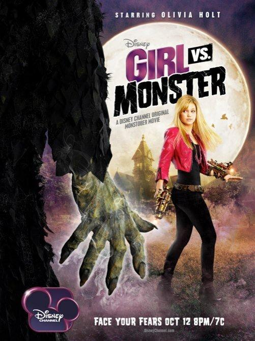 Девочка против монстра / Girl Vs. Monster (2012)