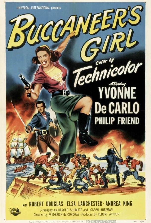 Дочь пирата / Buccaneer's Girl (1950)
