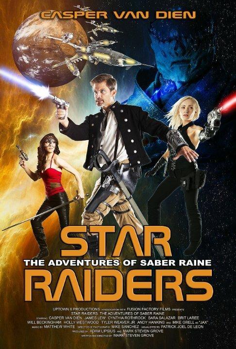 Космические Пираты: Приключения Сайбер Рэйна / Star Raiders: The Adventures of Saber Raine (2017)