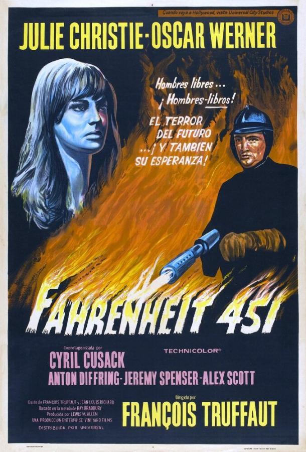 451º по Фаренгейту / Fahrenheit 451 (1966)