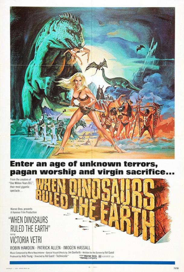 Когда на земле царили динозавры / When Dinosaurs Ruled the Earth (1970)