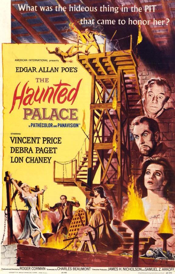 Заколдованный замок / The Haunted Palace (1963)