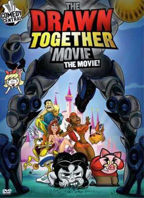 Мультреалити: Большое Кино / Сумасшедшие за стеклом: Фильм / The Drawn Together Movie: The Movie! (2010)