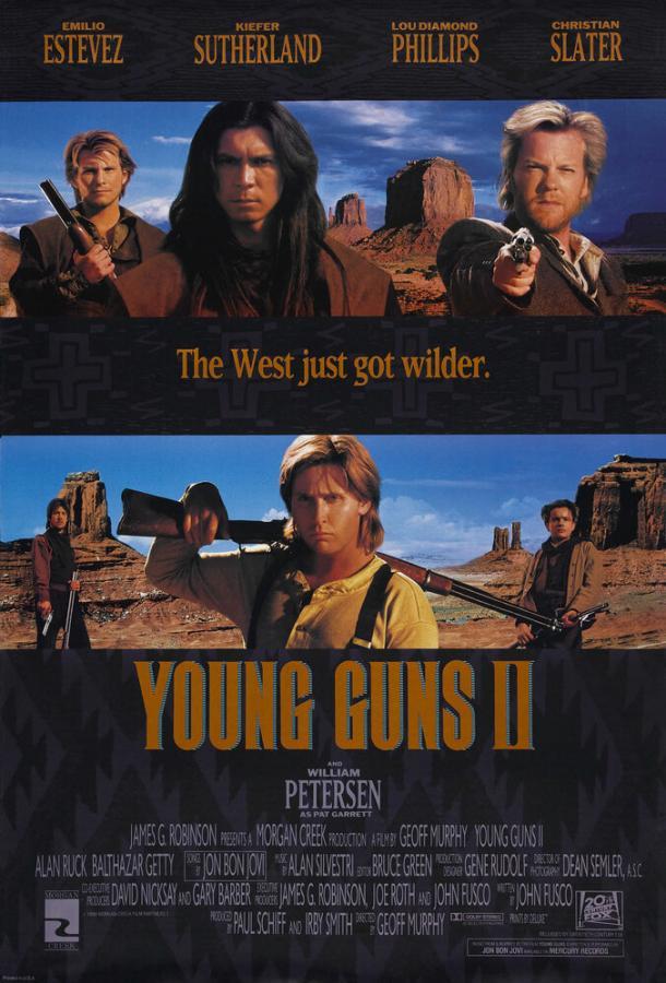 Молодые стрелки 2 / Young Guns II (1990)