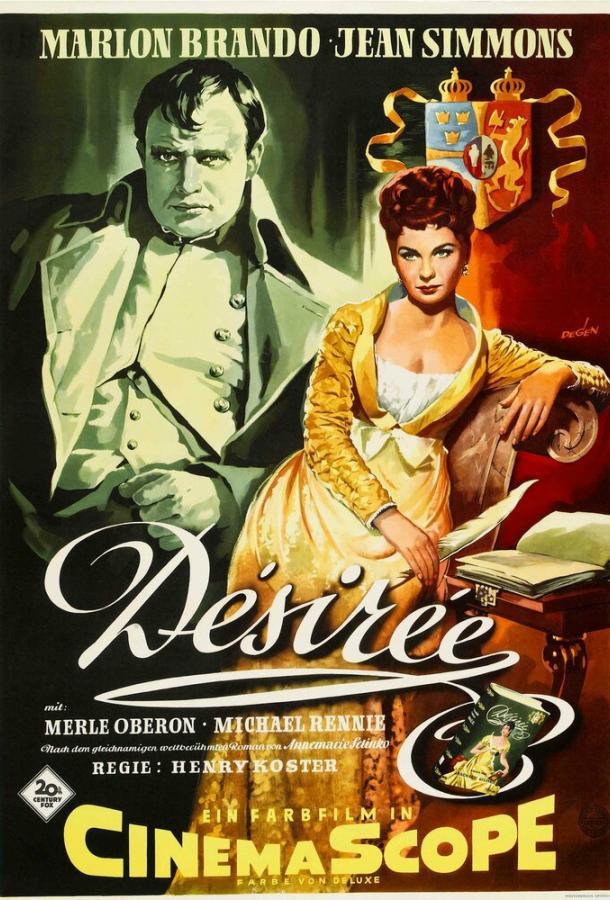 Любовь императора Франции / Désirée (1954)