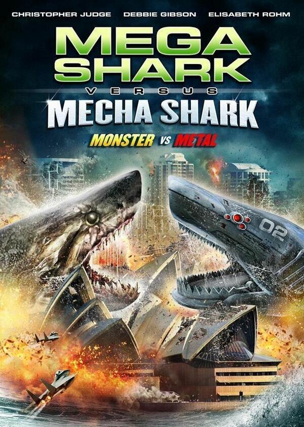 Мега-акула против Меха-акулы / Mega Shark vs. Mecha Shark (2014)