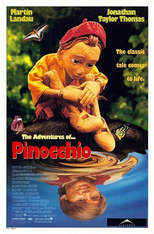 Приключения Пиноккио / The Adventures of Pinocchio (1996)