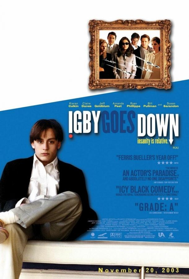 Игби идет ко дну / Igby Goes Down (2002)