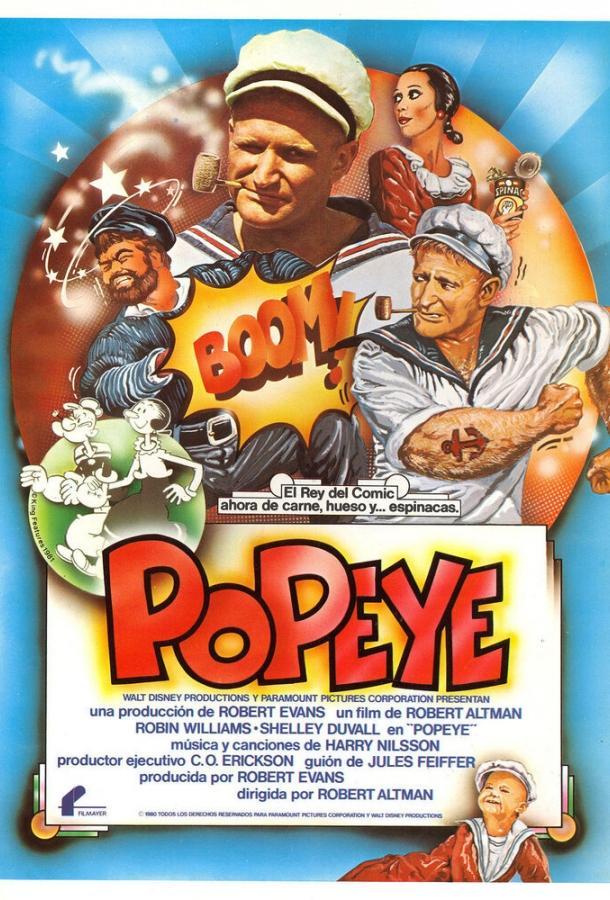 Попай / Popeye (1980)
