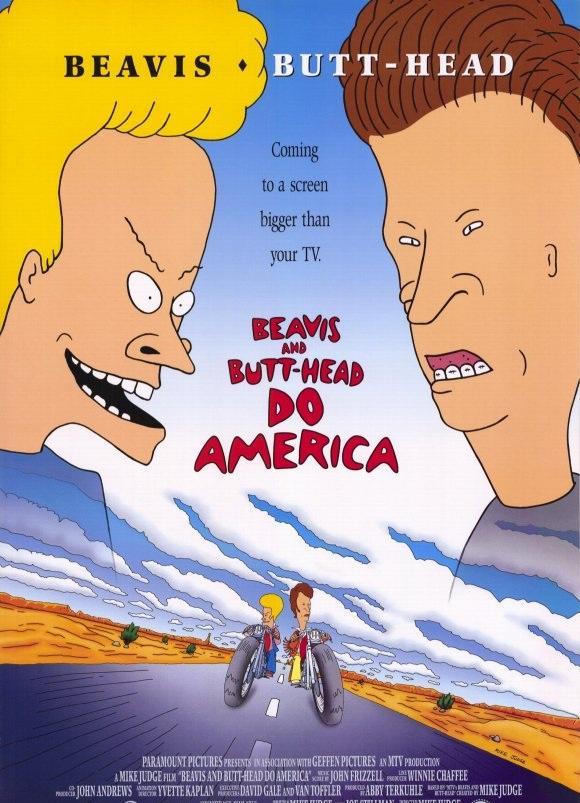 Бивис и Батт-Хед уделывают Америку / Beavis and Butt-Head Do America (1996)