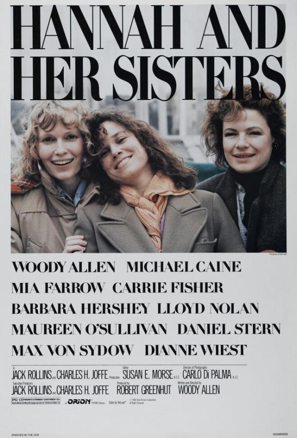 Ханна и её сестры (1986) смотреть бесплатно онлайн