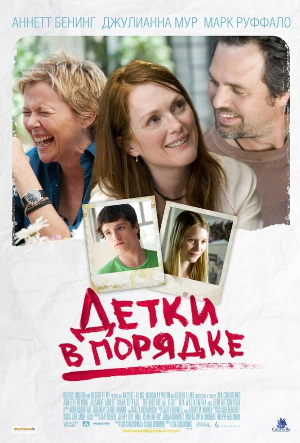 Детки в порядке / The Kids Are All Right (2010)