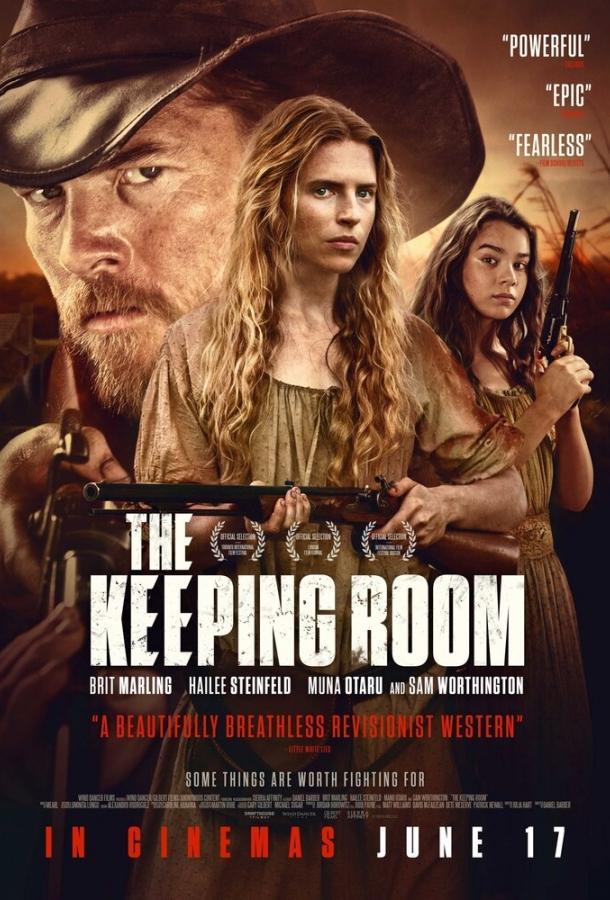Гостиная / The Keeping Room (2014)