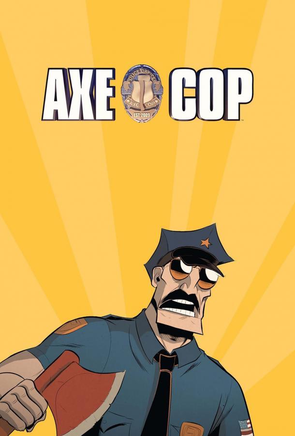 Коп с топором / Axe Cop (2012)