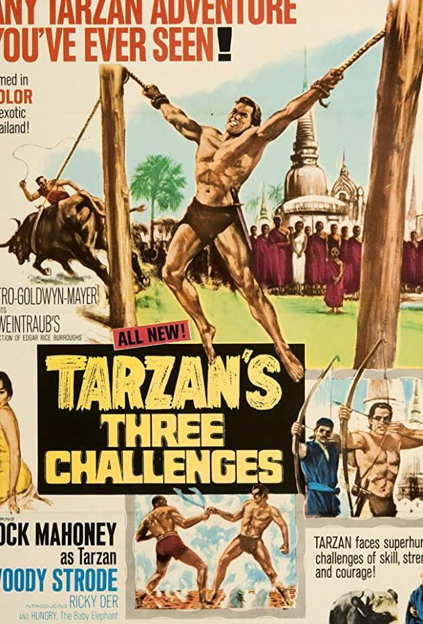 Три испытания Тарзана