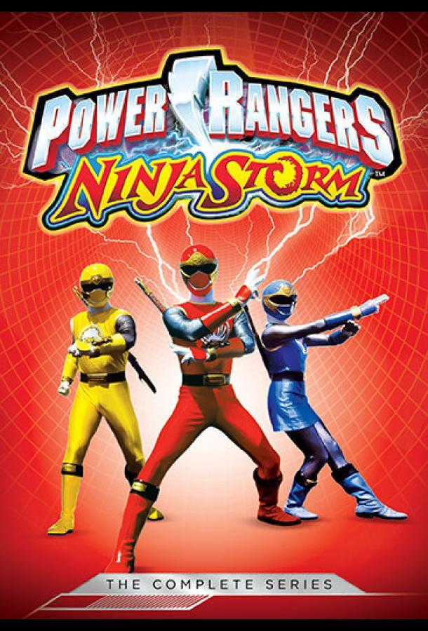 Могучие рейнджеры 11: Ниндзя Шторм / Power Rangers Ninja Storm (2003)