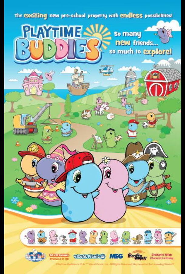 Сериал Бадики / PlayTime Buddies (2013) смотреть онлайн 1 сезон