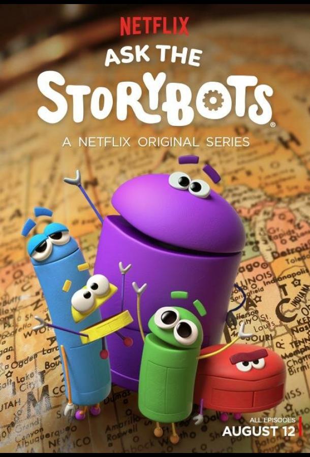 Сериал Спроси у Сториботов / Ask the StoryBots (2016) смотреть онлайн 1 сезон
