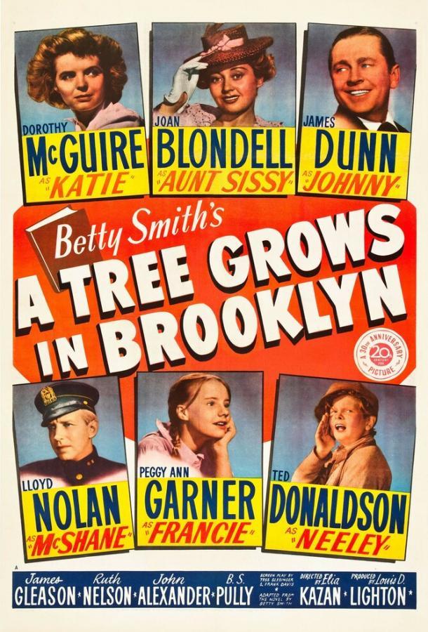Дерево растет в Бруклине (1945) смотреть онлайн