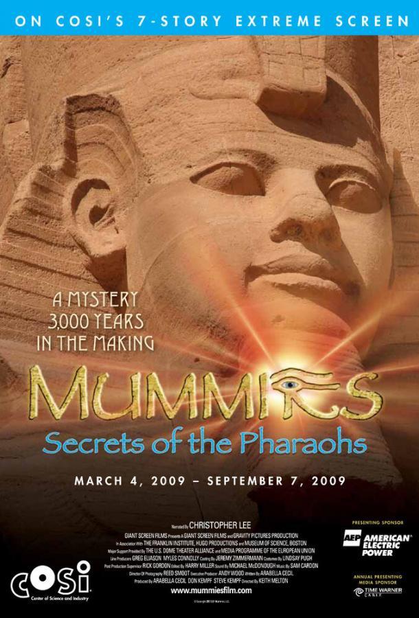 Мумии: Секреты фараонов 3D (2007) BD