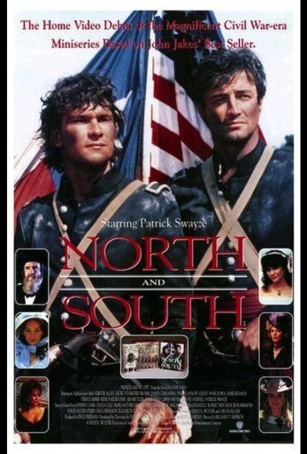 Сериал Север и Юг (1985) смотреть онлайн 1-2 сезон