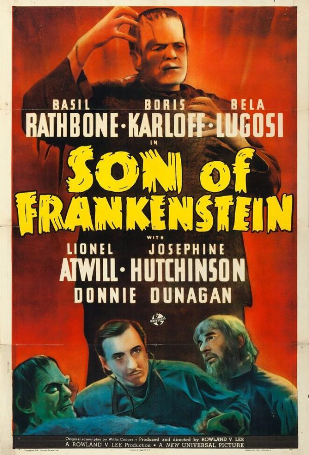 Сын Франкенштейна (1939) смотреть онлайн