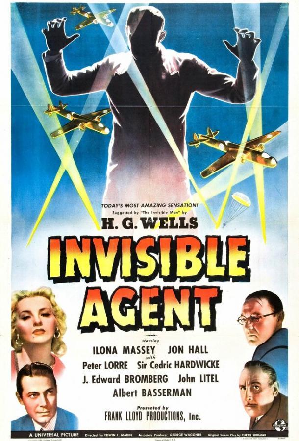 Невидимый агент (1942) смотреть онлайн