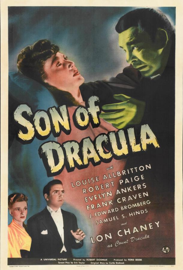 Сын Дракулы (1943) смотреть бесплатно онлайн
