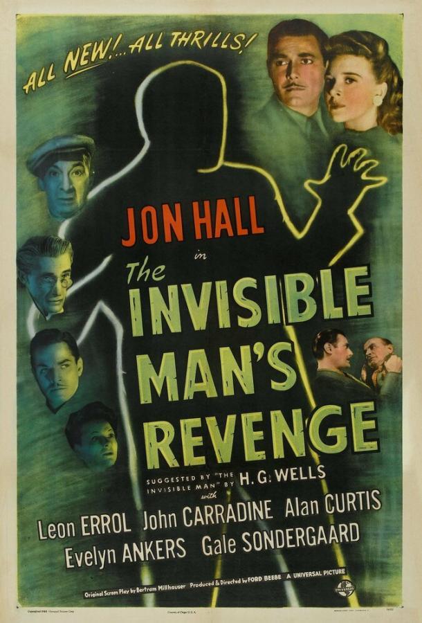 Месть человека-невидимки (1944) смотреть онлайн