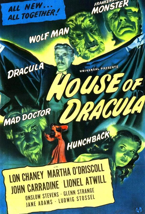 Дом Дракулы (1945) смотреть онлайн в хорошем качестве
