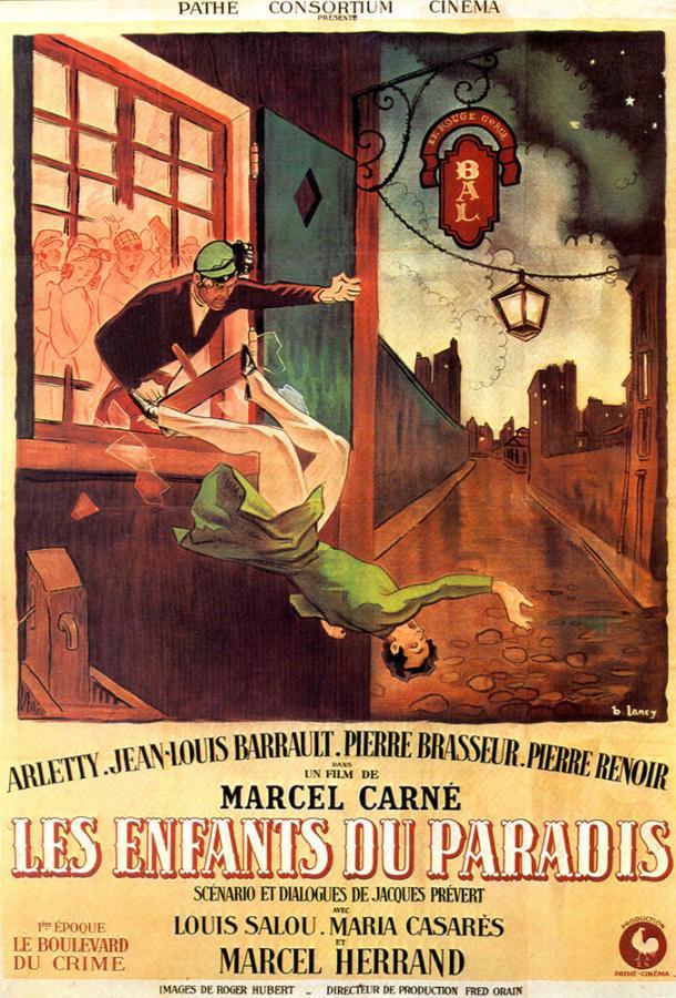 Дети райка (1945) смотреть бесплатно онлайн