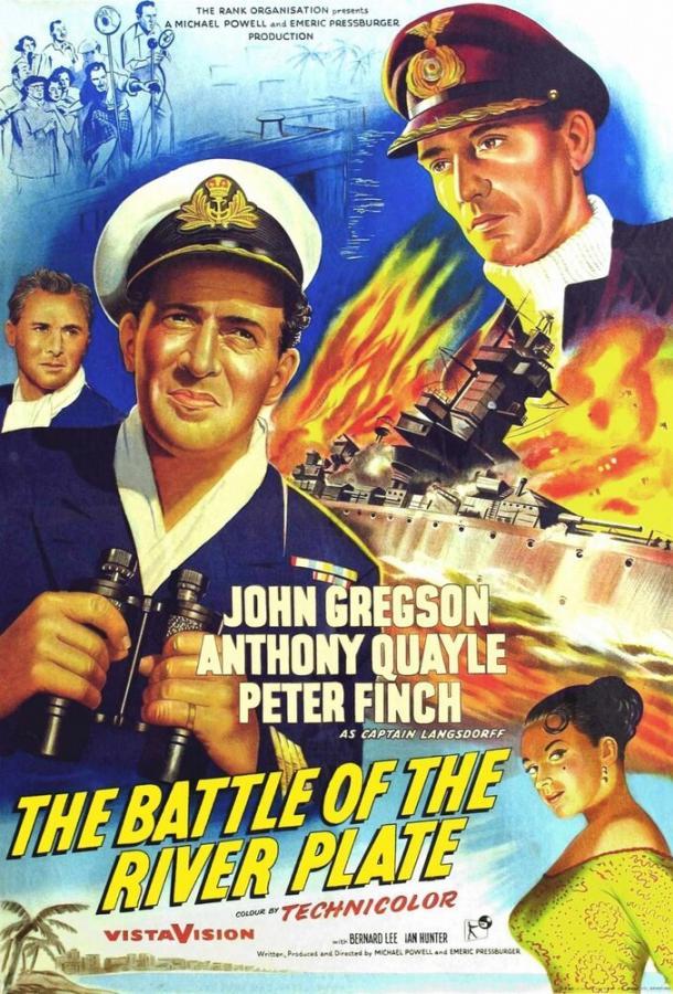 Битва у Ла-Платы (1956) смотреть бесплатно онлайн