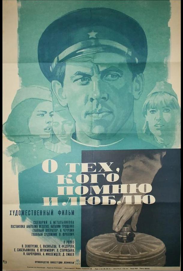 О тех, кого помню и люблю (1973) смотреть бесплатно онлайн