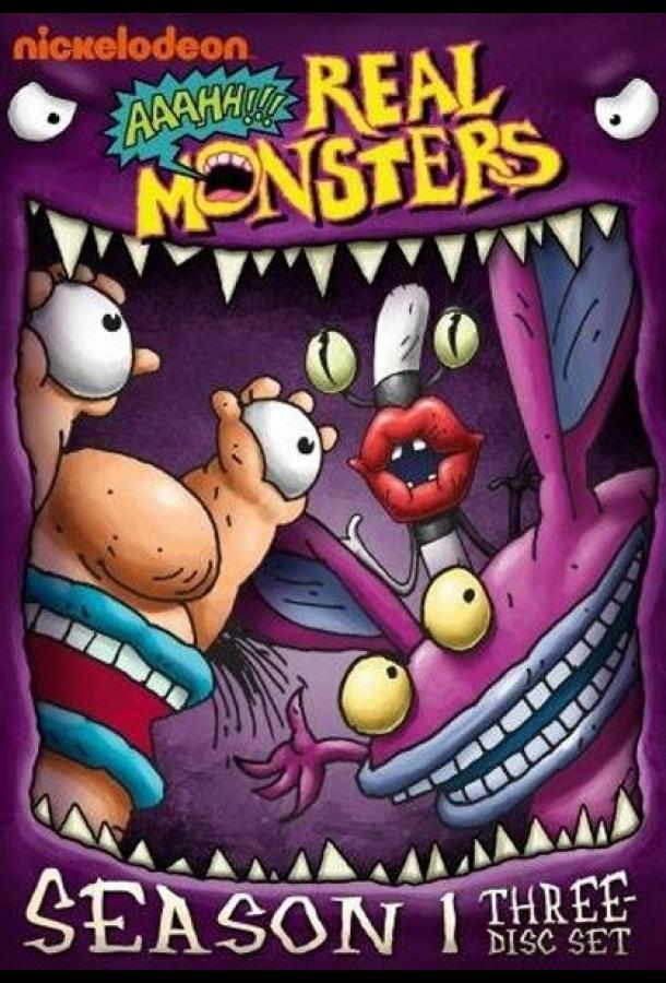 Сериал ААА!!! Настоящие монстры (1994) смотреть онлайн 1-4 сезон