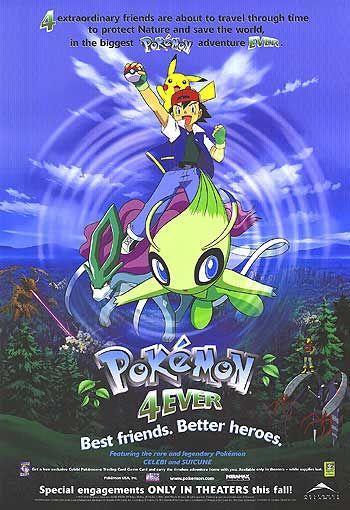 Покемон навсегда: Селеби - Голос леса (2001) смотреть онлайн