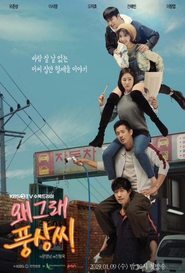 Что случилось, Пхун-сан? / What's Wrong, Poong-sang (2019) смотреть онлайн 1 сезон