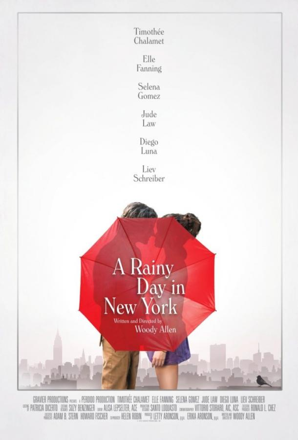 Дождливый день в Нью-Йорке (2019)